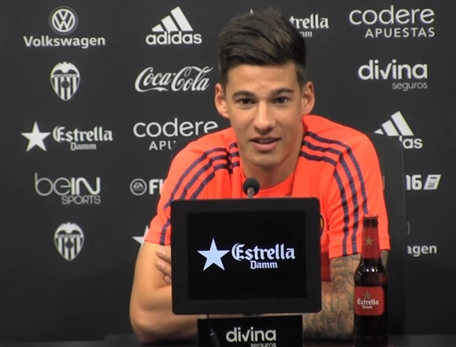 WATCH: Santi Mina admits something was thrown at Valencia players in tunnel after Barcelona win
