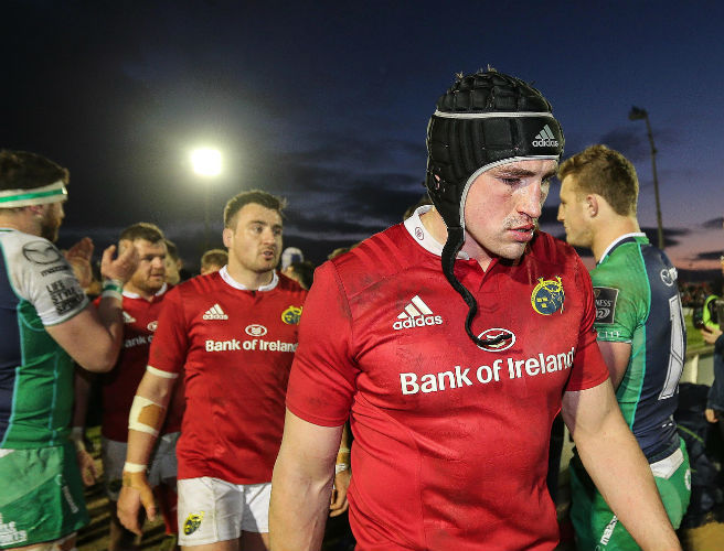 Munster, Tommy O'Donnell, Connacht