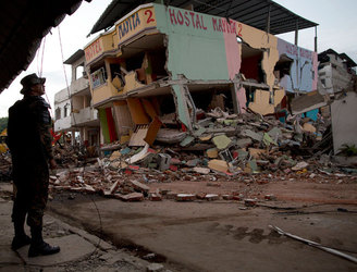 Another earthquake strikes Ecuador