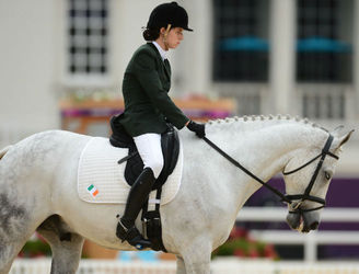 "Irish Paralympian explains why equestrian has ""given me a lot of what the disability takes away"""
