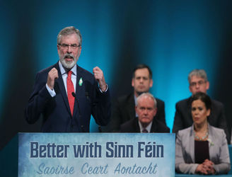 Sinn Fein loses a seat in the North
