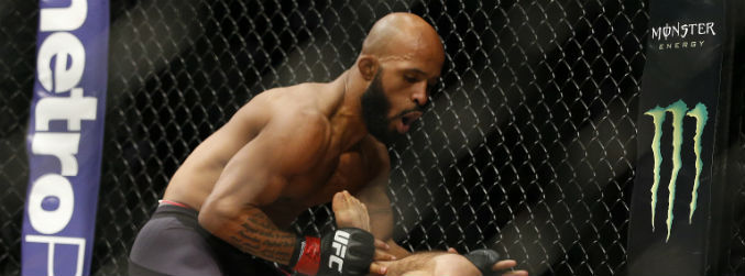 WATCH: Demetrious Johnson beats with Henry Cejudo after devastating first round TKO