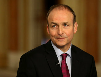 "Micheál Martin hopes to reach resolution in government talks by ""early next week"""