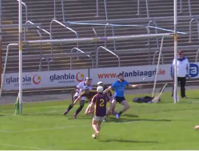 Dublin minor scores cracking improvised goal