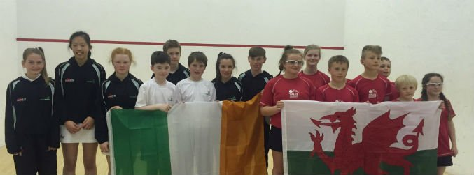 Second place finish for Ireland's junior squash team at the Five Nations