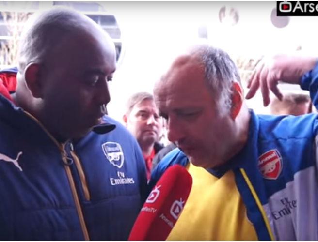 WATCH: Arsenal fan lets us know he is fed up of Olivier Giroud in expletive laden rant