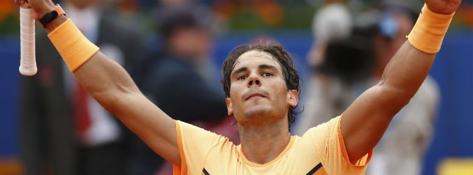 Rafael Nadal equals record as he rediscovers form on clay