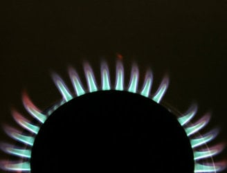 Irish wholesale gas prices crash, falling by 45%