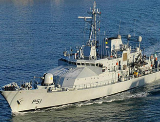 LÉ Róisín rescues 123 people from a boat off the coast of Libya