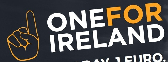 Here's how you can give One for Ireland today and help raise money for homelessness