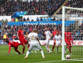 Ayew leads Swansea past much-changed Liverpool