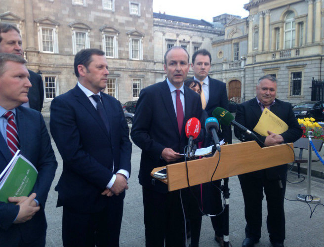 Fine Gael, Fianna Fail, deal, parliamentary parties, Independents