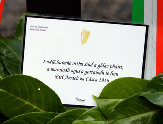 Events marking 100 years since executions of four 1916 leaders being held in Dublin