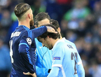 Injured David Silva is a little more peripheral as his Man City team-mates travel to Madrid