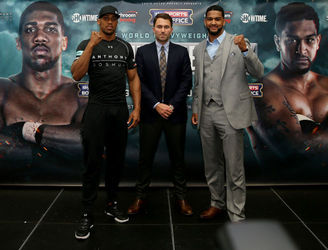 Anthony Joshua pens multi-fight deal with Showtime in the US