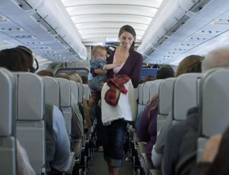 WATCH: US airline JetBlue gives passengers free flights when a baby cries