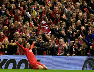 Liverpool face holders Sevilla in the Europa League final as they sink the Yellow Submarine