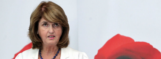 joan, burton, resignation, labour, leader, tanaiste, parliamentary, party
