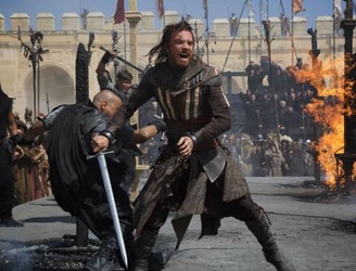 "WATCH: Michael Fassbender goes back in time in the ""Assassin's Creed"" trailer"