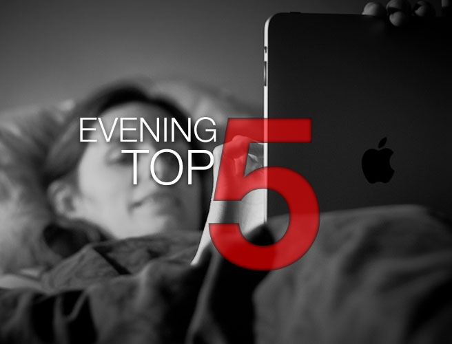 Evening Top 5: NI blood donor ban lifted; Louvre closed; Prince cause of death revealed
