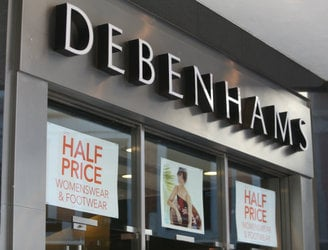 Workers at Debenhams left 'reeling' as Irish stores enter examinership