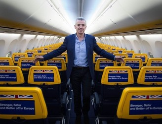 Business continues to boom for Ryanair
