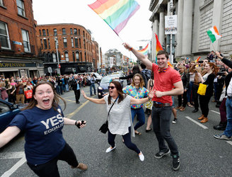 WATCH: People remember the Marriage Equality referendum with #marrefmemories