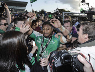 Man-of-the-match Bundee Aki almost missed Connacht's Pro12 win with injury