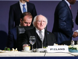 President Higgins calls for 'rethink' of international politics
