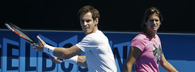murray, mauresmo, french open, tennis