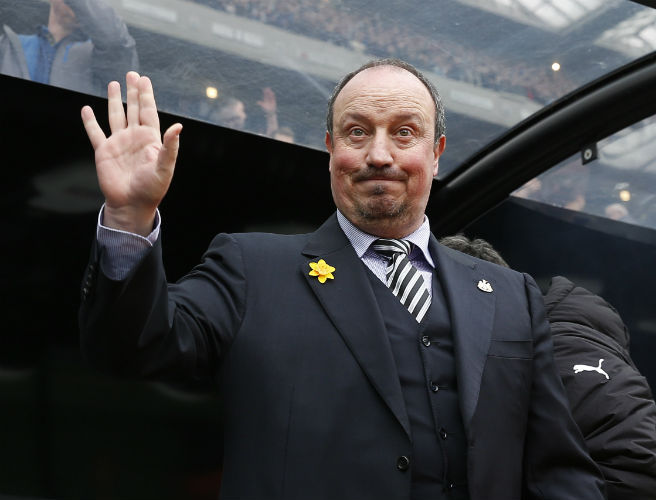 Rafa Benitez signs three-year deal at Newcastle
