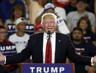 Donald Trump gets enough delegates to win US presidential nomination