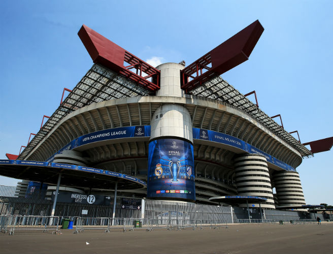 San Siro, Champions League