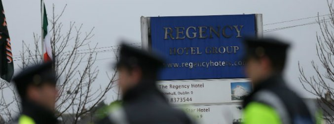 gardai, appeal, recordings, footage, shooting, regency, hotel