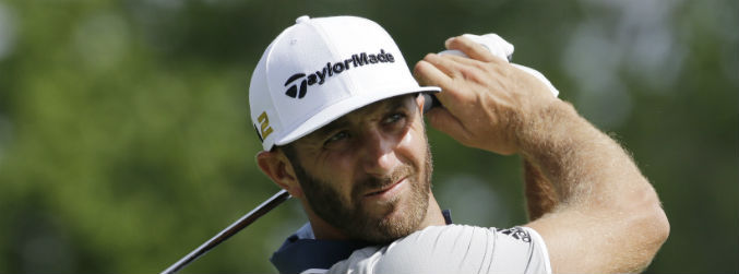 WATCH: Dustin Johnson produces remarkable shot during the final round of the Memorial tournament