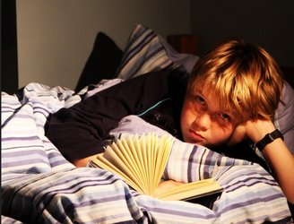 Boys who grow up around books earn more, study says