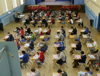 Around 120,000 students preparing to sit their first Junior and Leaving Cert exams this morning