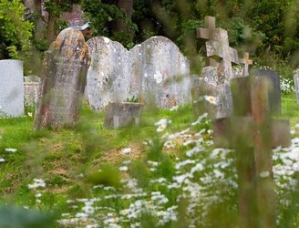 The digitisation of graveyards: How teams of drones help modernise cemeteries