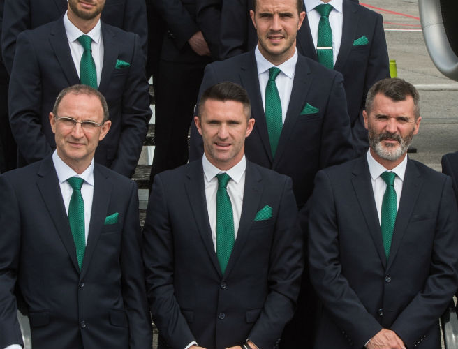 PICS: Ireland's Euro 2016 hopes take to the air as the squad fly out to France