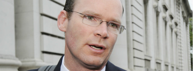 simon, coveney, dangerous, precedent, minister, irish, water