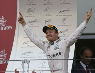 Rosberg puts some more room back between himself and Hamilton in F1's standings