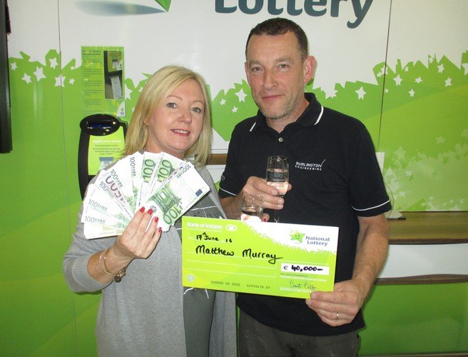 Dublin man has 'minimum spend' to thank for €40k win