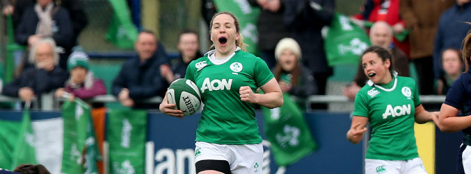 Niamh Briggs part of experienced Sevens side for this weekend's Olympic qualifiers