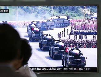 North Korea test-fires two missiles