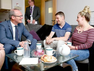 From rough sleeping to secure accommodation: 18 apartments opened for homeless people in Dublin