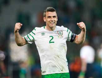 "Seamus Coleman's ""inspirational"" speech helped Ireland to secure a famous victory over Italy"