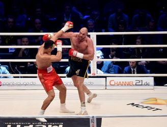 WATCH: Fury-Klitschko rematch postponed after champion suffers ankle injury