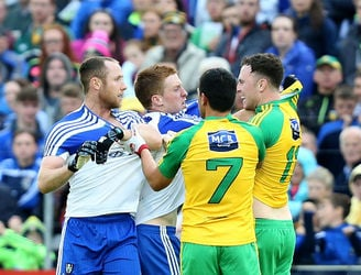 In Pictures: Donegal and Monaghan take Ulster clash to replay
