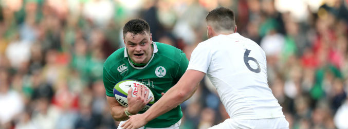 Four Irish players named in the U20 Team of the Championship