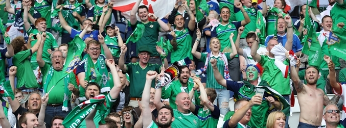 Northern Ireland, France, fans,